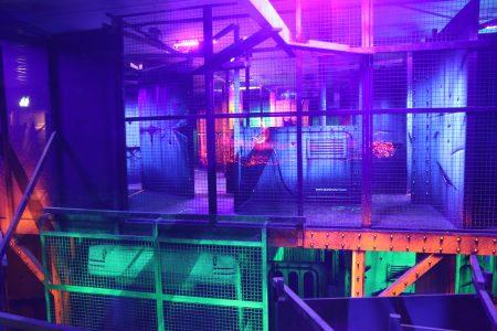 Salle de lasergame